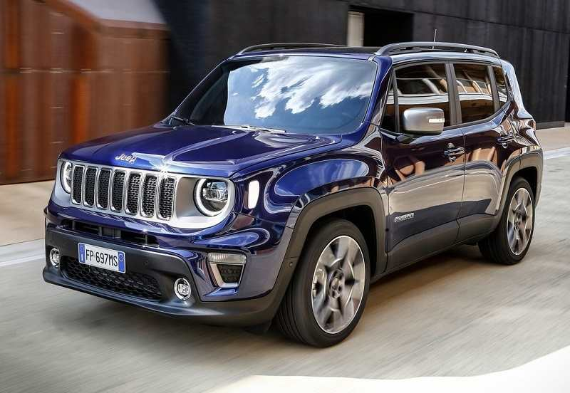 2019 Jeep Renegade Facelift specs