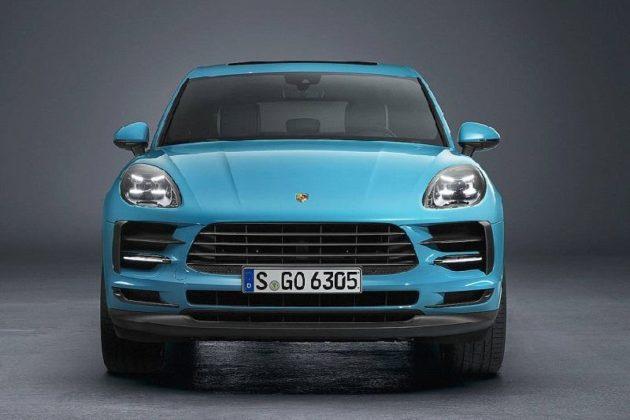 2019 Porsche Macan Facelift front