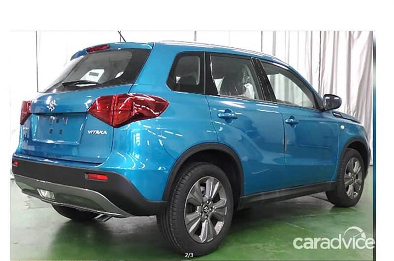 2019 Suzuki Vitara Series Ii Rear India Car News