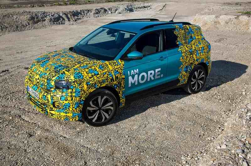 2019 VW T-Cross prototype