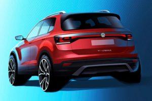2019 Volkswagen T-Cross Teased