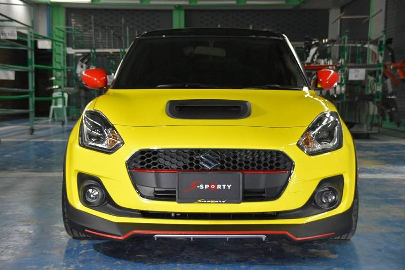 New Maruti Suzuki Swift Modified With Sporty Body Kit ...