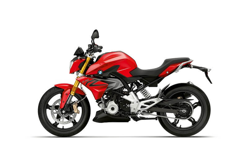 BMW G310R Racing Red