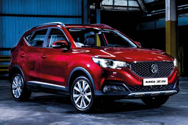 MG ZS India Launch