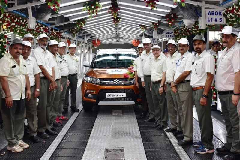 Maruti Suzuki Production Milestone
