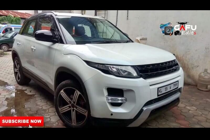 Modified Maruti Vitara Evoque