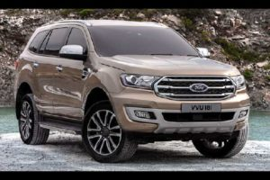 New Ford Endeavour 2019 Facelift