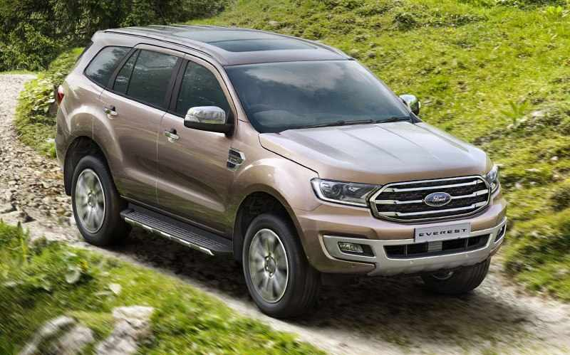 New Ford Endeavour 2019 India