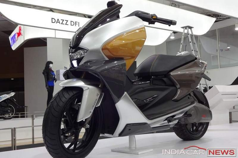New TVS 150cc Scooter