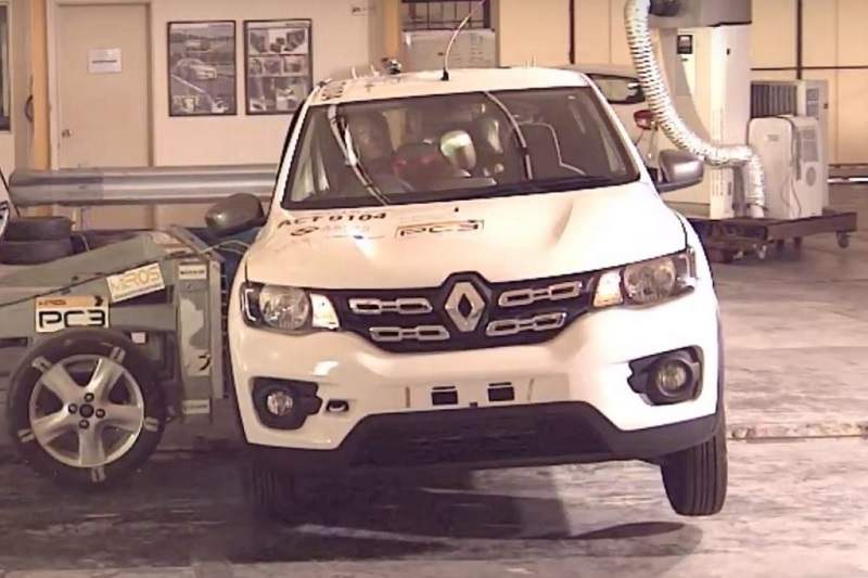 Renault Kwid ASEAN NCAP Crash Test