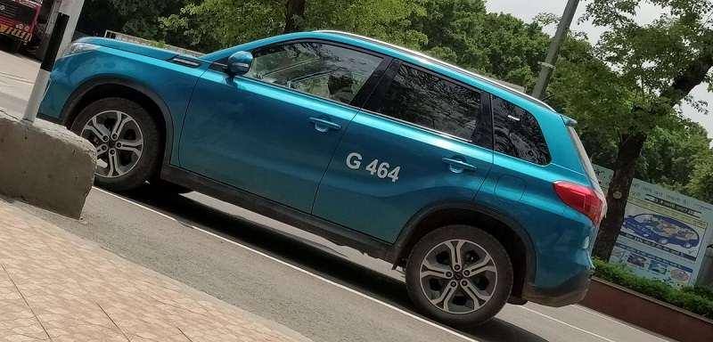 Suzuki Vitara SUV Spied Again