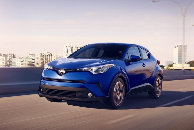 Toyota C-HR Crossover Blue