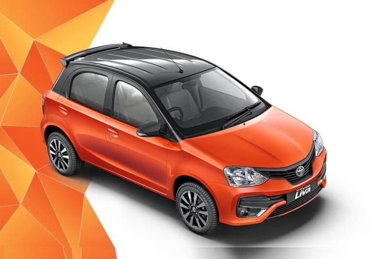 Toyota Etios Liva Inferno Orange