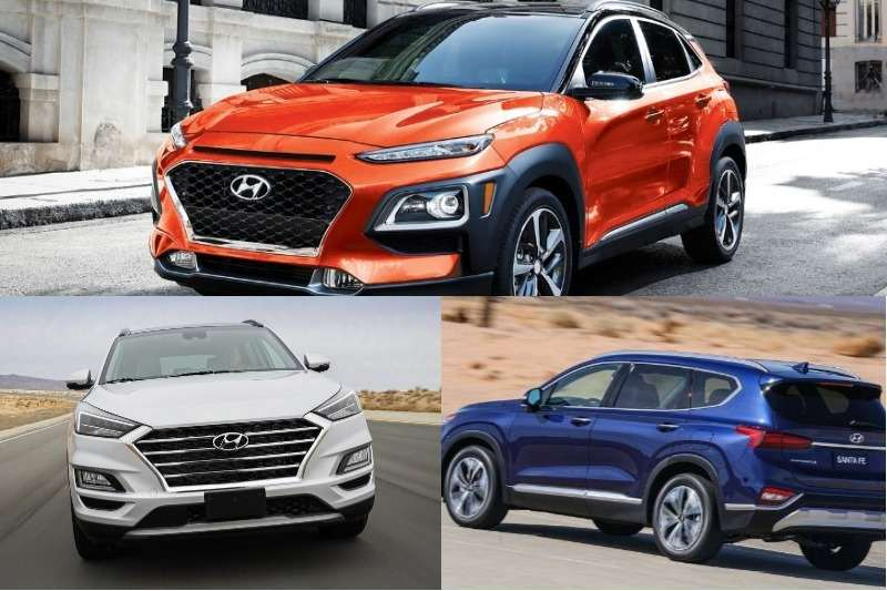 Upcoming Hyundai SUVs