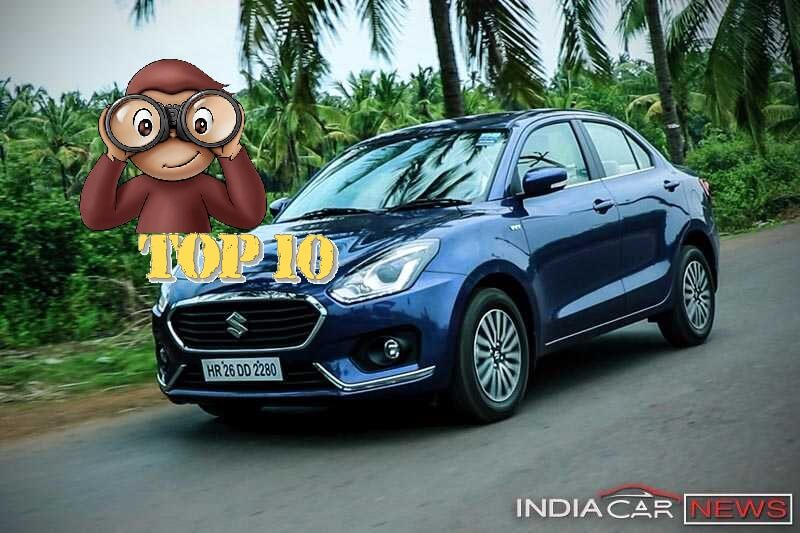 Top 10 Best Selling Cars July