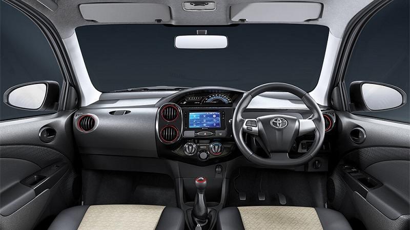 2018 Toyota Etios Liva Dual-Tone Interior