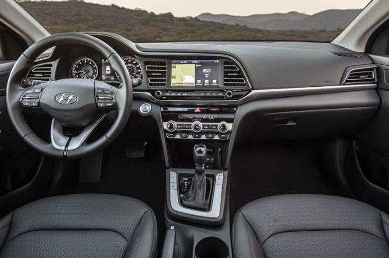 2019 Hyundai Elantra Facelift Interior