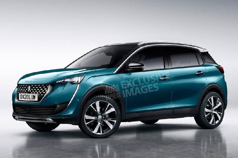 2019 Peugeot 2008 Rendered