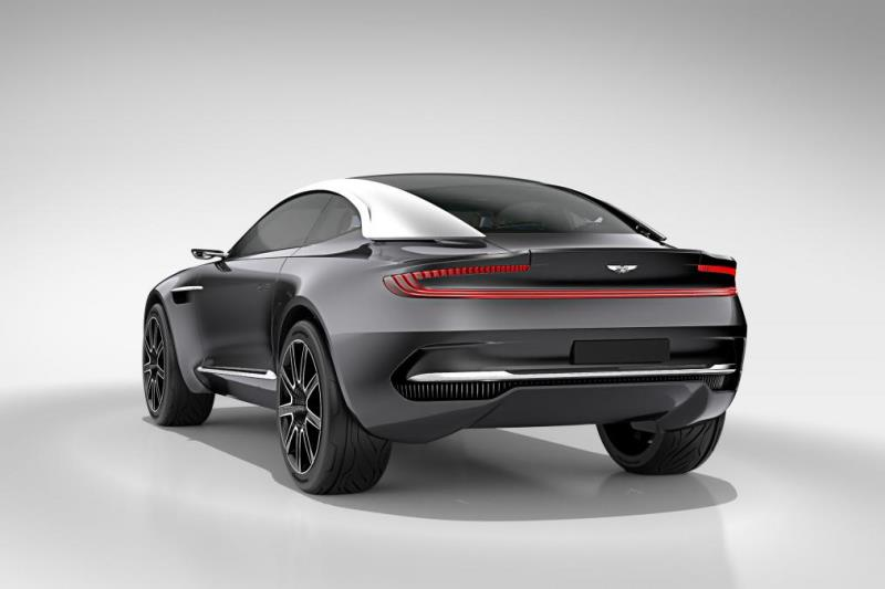Aston Martin DBX Concept top