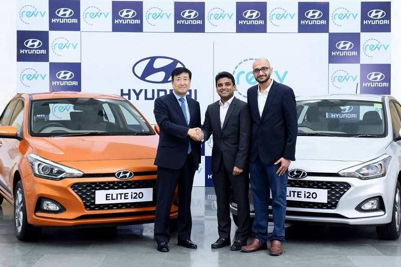 Hyundai Invests In Indian Car Sharing Service Provider Revv