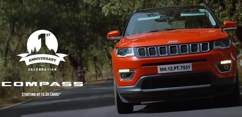 Jeep Compass 1st Anniversay