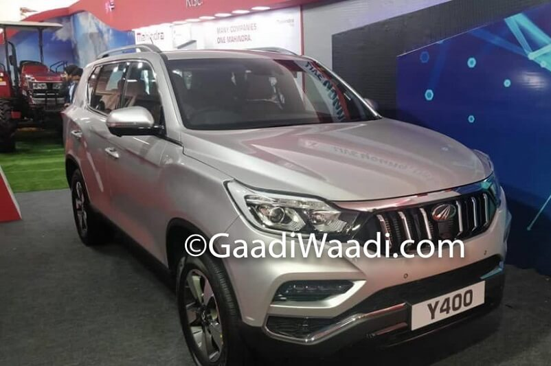 Mahindra XUV700 Y400 Spied side profile