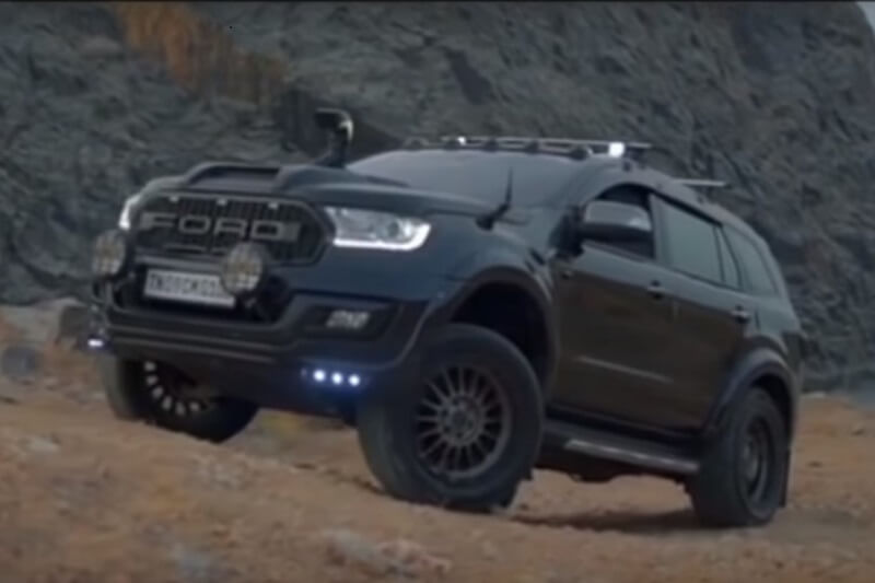 Modified Ford Endeavour 1