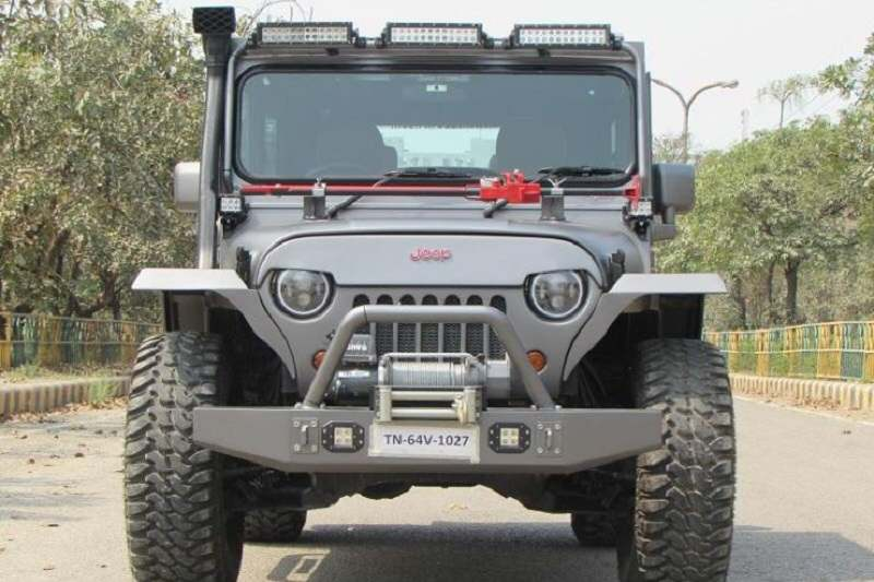 Modified Mahindra Thar Beast