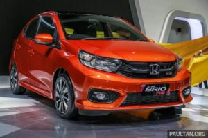 New 2019 Honda Brio RS Revealed Specs