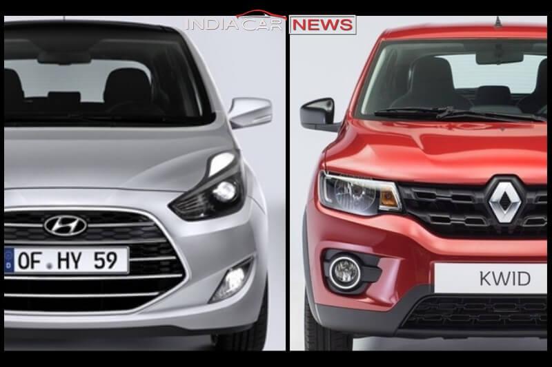 New Hyundai Santro 2018 Vs Renault Kwid