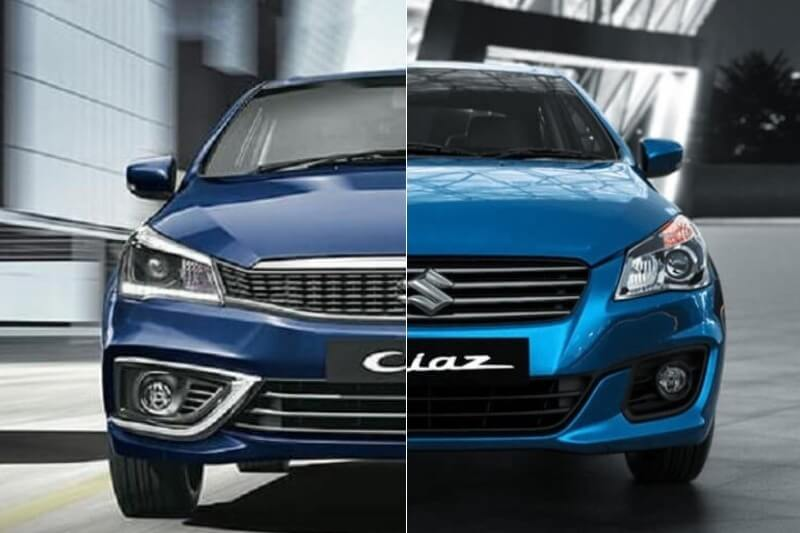 New Maruti Ciaz Vs Old Ciaz