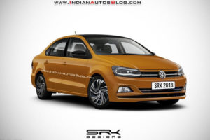 New Volkswagen Vento 2019 Facelift Rendered