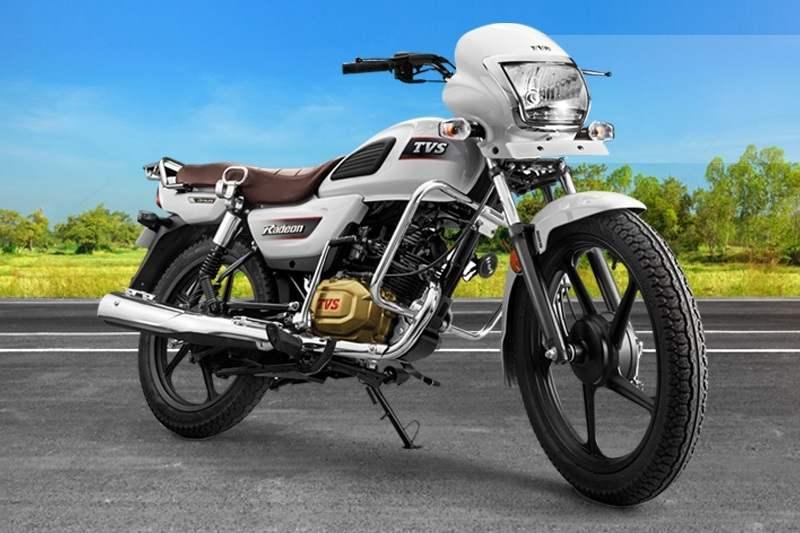 TVS Radeon 110cc bike