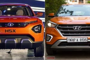 Tata Harrier Vs Hyundai Creta