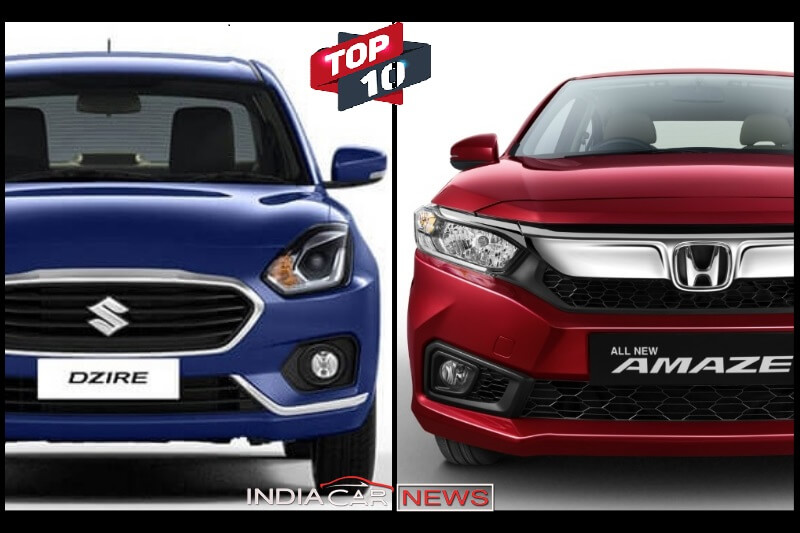 Top 10 Best Selling Sedan July 2018