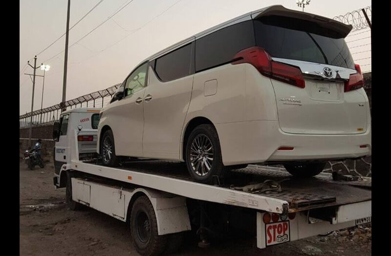 Toyota Alphard Imported