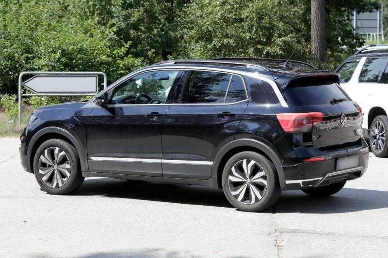 Volkswagen T-Cross Spied Rear
