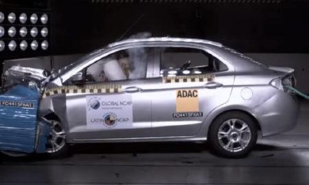 2018 Ford Figo Sedan Latin NCAP