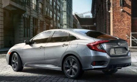 2019 Honda Civic India Side Rear