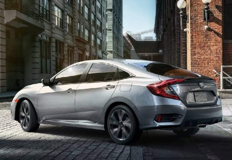 2019 Honda Civic India Side Rear
