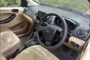 Ford Aspire Facelift Interior
