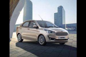 Ford Aspire Facelift Revealed