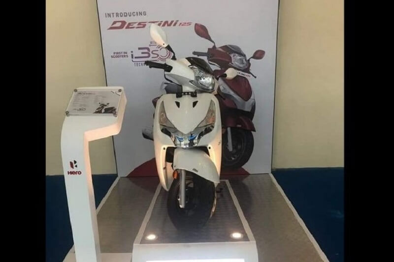Hero Destini 125cc scooter