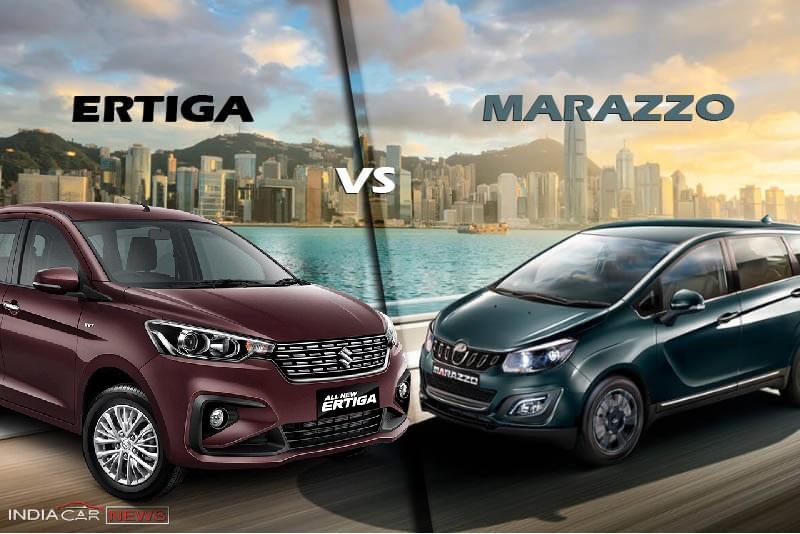 Mahindra Marazzo vs Maruti Ertiga
