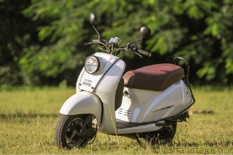 This Retro Looking Honda Activa Is A Real Charmer