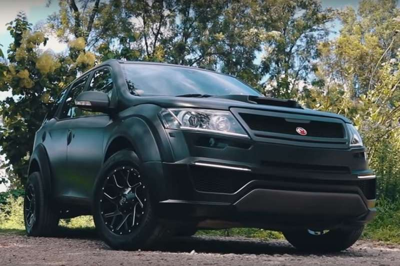 This Modified Mahindra Xuv500 Madmen Is A Job Well Done