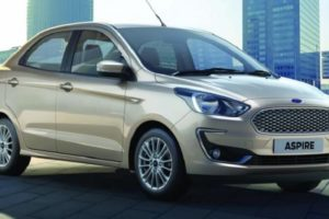New Ford Aspire 2018 Facelift