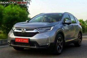 New Honda CRV 2018 India