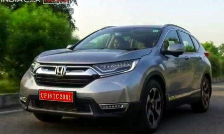 New Honda CRV 2018 India