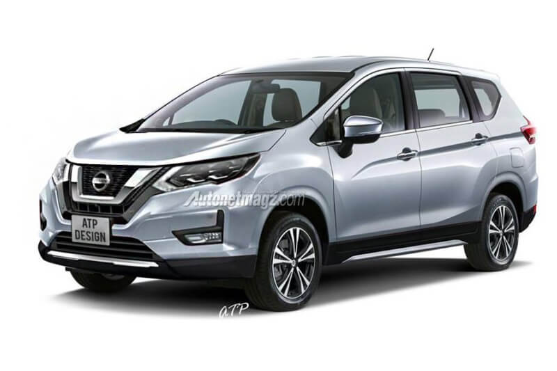 Nissan Grand Livina Rendering